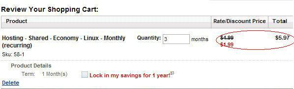 Godaddy优惠码:主机每月$1.99