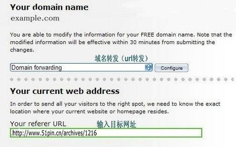 URL转发