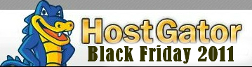 Hostgator 2011BlackFriday 大幅优惠