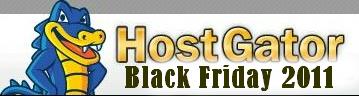 Hostgator 2011BlackFriday 大幅优惠