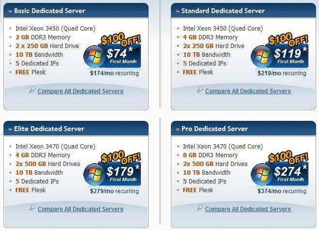 Hostgator windows服务器首月优惠$100