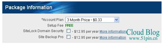 bluehost主机1美元试用3个月